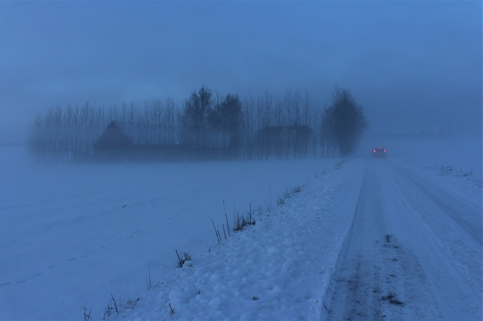 gladheid en sneeuw weerbericht