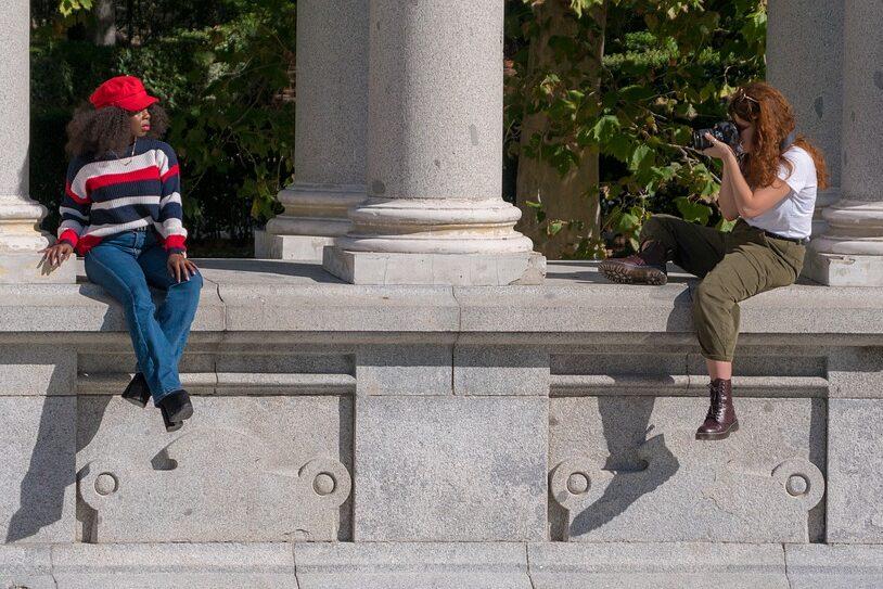Weerbericht bij fotoshoot of filmopname